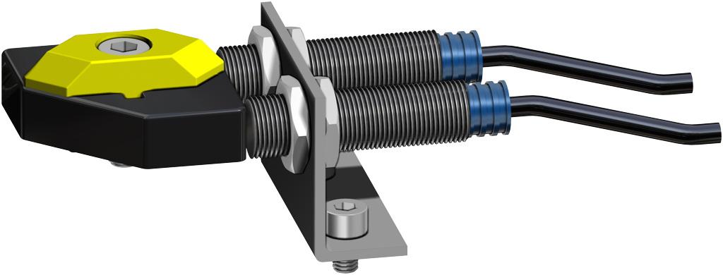 Actionneur pneumatique simple effet GS inox CF8M microcoulé - accessoires - FINS DE COURSE DE PROXIMITÉ