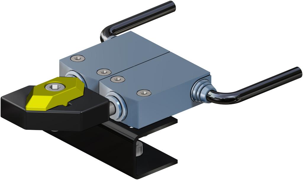 Actionneur pneumatique double effet GD en aluminium - accessoires - FINS DE COURSE ÉLECTROMÉCANIQUES