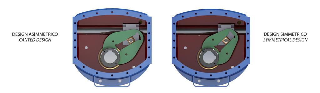 Actionneur pneumatique simple effet GS Heavy Duty acier au carbone  - spécifications -
