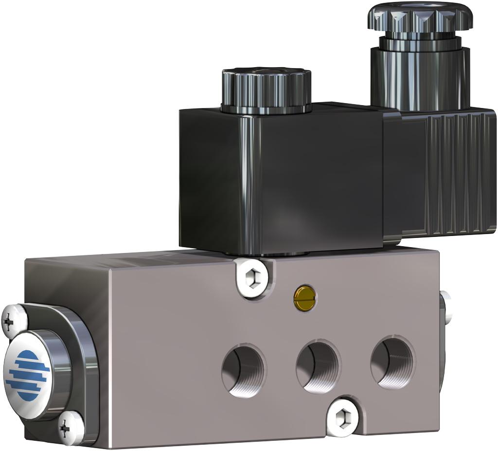 Actionneur pneumatique double effet GD en aluminium - accessoires - ÉLECTROVANNES NAMUR