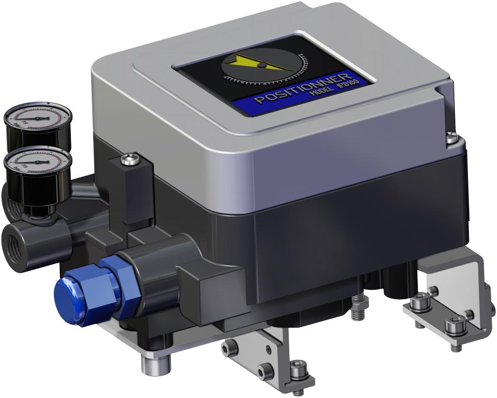 Actionneur pneumatique simple effet GS inox CF8M microcoulé - accessoires - POSITIONNEUR ÉLECTROPNEUMATIQUE (SÉCURITÉ INTRINSÈQUE)